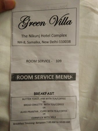 Green Villa : Limited Options with Complimentary BreakFast