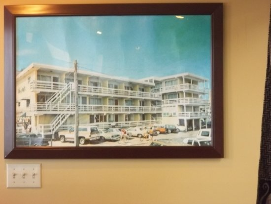 Tidelands Caribbean Hotel and Suites: How the original hotel looked