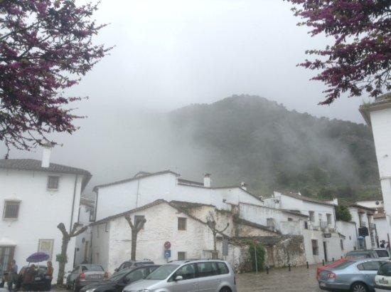 Vista desde la Oficina Municipal de Turismo de Grazalema