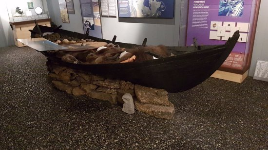 Viking World: Funeral boat