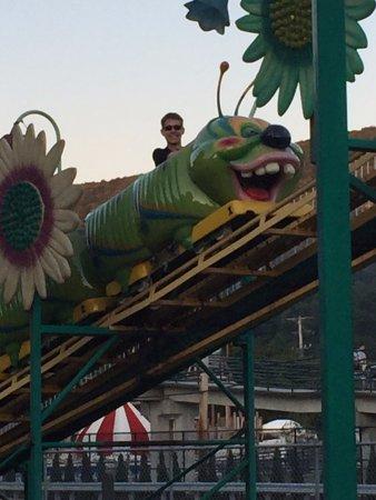 Tipton, Pensilvania: Wacky Worm rollercoaster fun