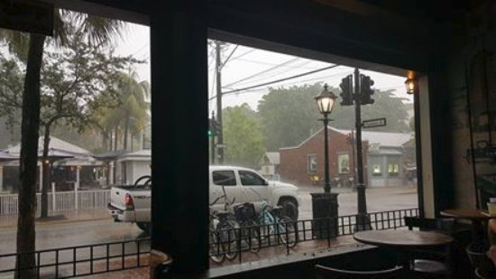 The Bull And Whistle Bar: View from the inside out