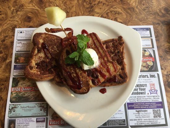 Stir the Pot: Bacon Stuffed French Toast, this was a weekend special and probably the best French Toast ever.