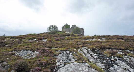 Lochaber, UK: Tioram Castle views