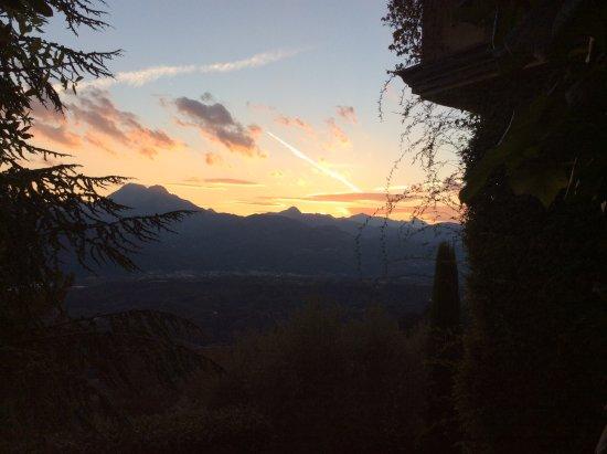 Coreglia Antelminelli, Italy: Sunset