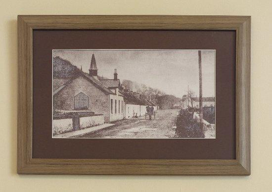 Woodlea Tearoom: Old photo of schoolroom