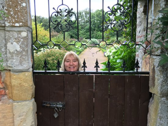 Lock me in .... please. The Forbes Walled Garden @ Culloden House
