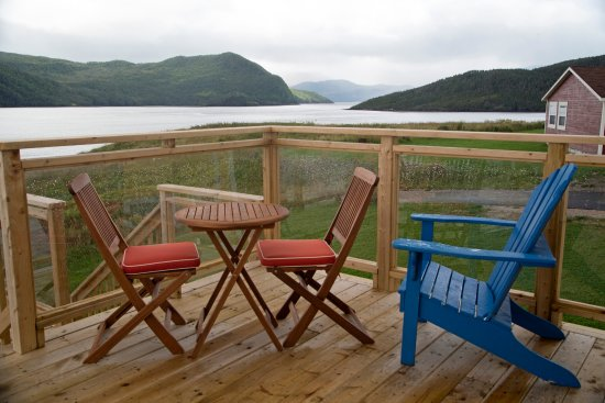 Norris Point, Kanada: sun deck