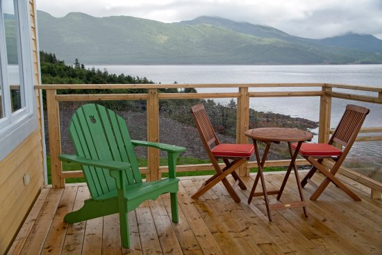 Norris Point, Canada: Lovely view on the sun deck