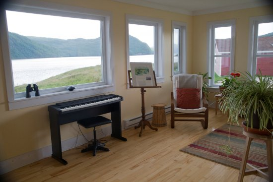 Norris Point, Canada: Tea room