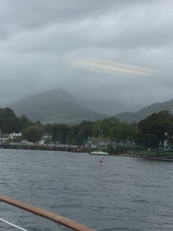 Bowness-on-Windermere, UK: Lake Windermere from the boat