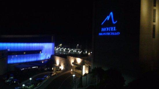 San Francisco de Mostazal, Chile: vista nocturna