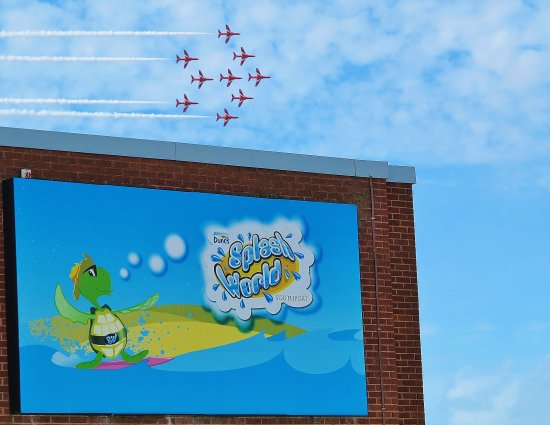 Splash World Southport: The Red Arrows at Splashworld