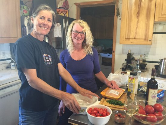"Elkhorn Bed and Breakfast: The cooking experience with my Debby and owner ""Deb""."