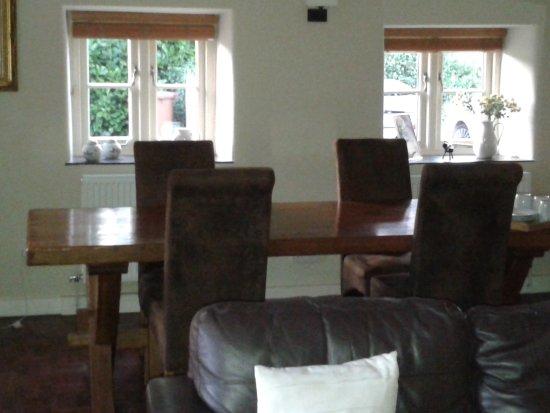 Weasenham All Saints, UK: Breakfast room
