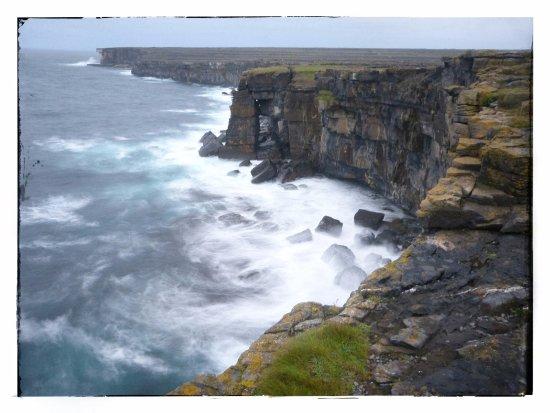 Cliffs within walking distance of Seacrest B&B