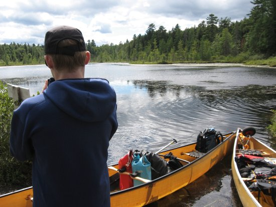 St. Regis Canoe Outfitters: AT WELLER POND