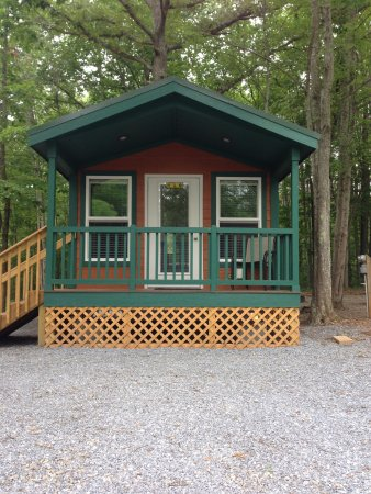 Monroe, VA: Deluxe Cabin 1