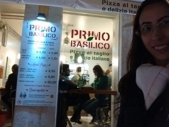 Primo Basilico : Encerrando a noite em Lisboa num lugar pitoresco, achado ao acaso.