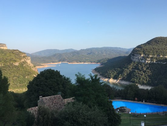 Parador de Vic-Sau: What a view!