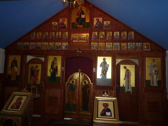 Chugiak, AK: Inside the New Saint Nicolas Church