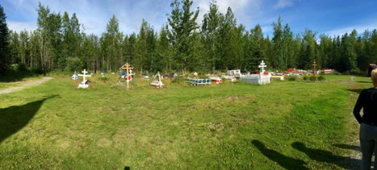 Chugiak, AK: Cemetery and Spirt Houses