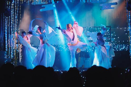 Upbeat dance routines and impressive costumes make for a