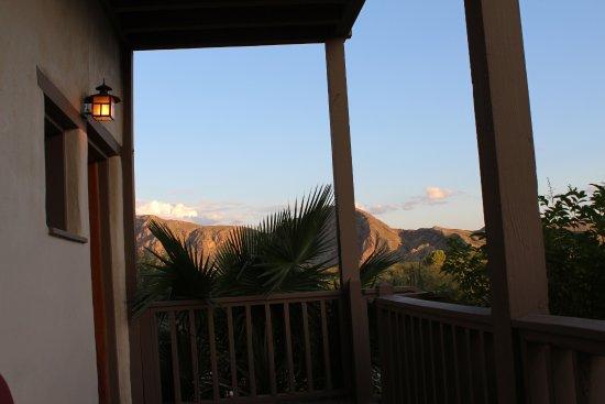 Lajitas, เท็กซัส: view from the porch
