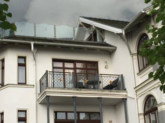 SEETELHOTEL Ahlbecker Hof: Balkon mit Seesicht