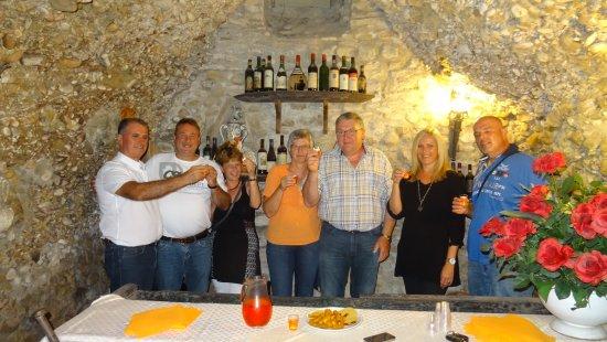 San Quirico in Collina, Italien: Unsere deutsche Gäste
