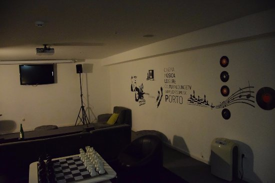 Gallery Hostel: シアタールーム