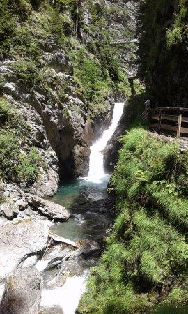 Les Houches, Frankrike: Gorges de la Diosaz