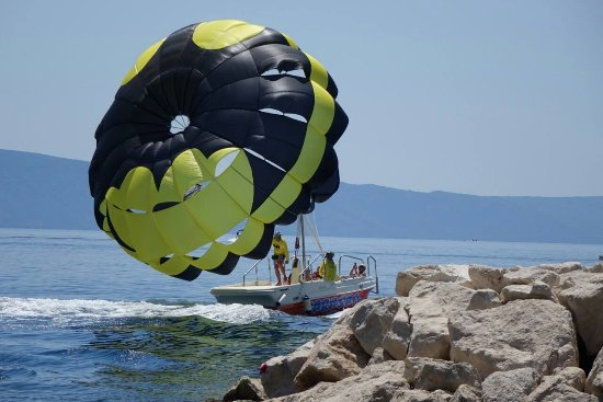Tucepi, Croatia: pop chute