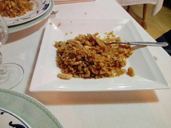 จังหวัดเบอร์กาโม่, อิตาลี: Riso alla Chao Lao Fan con carne, verdure e salsa di soia