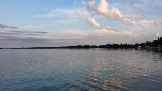 Presque Isle, MI: View from property of Grand Lake
