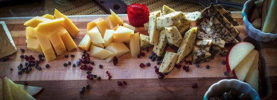 Valparaiso, IN: The cheese board
