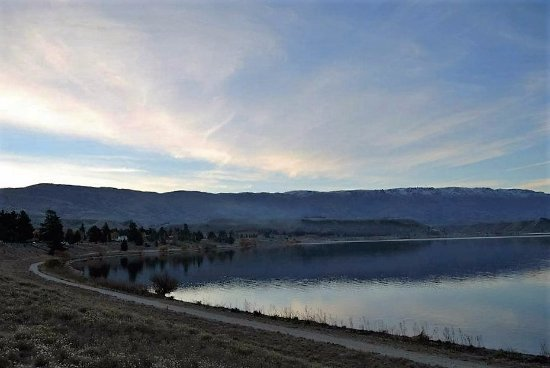 lago al lado de Arrowtown