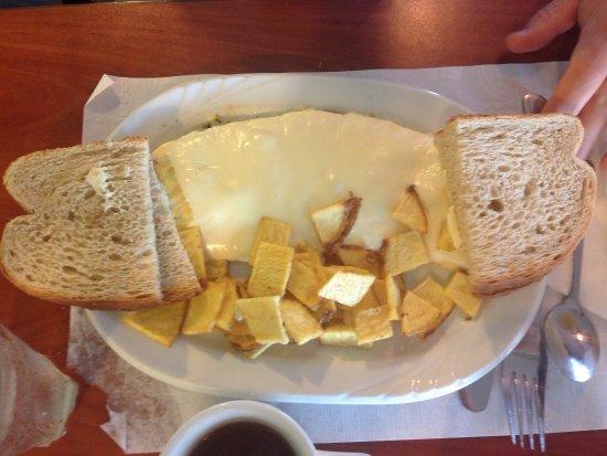 Quakertown, Pensilvania: Breakfast omelettes