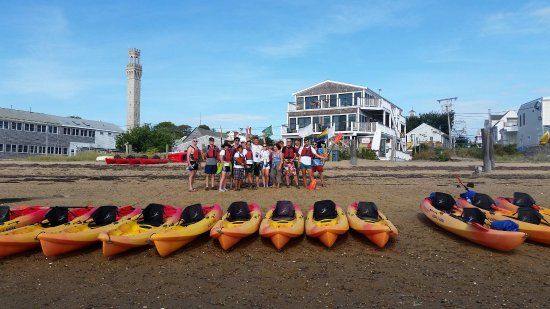 9-10-16 An amazing day for Swim For Life & Paddler Flotilla! Provincetown Aquasports donated the