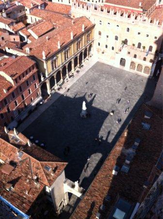 Piazza dei Signori: Dalla torre dei lamberti