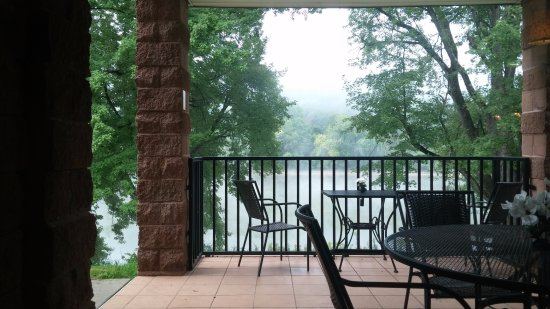 Owego, Nova York: View from breakfast room.