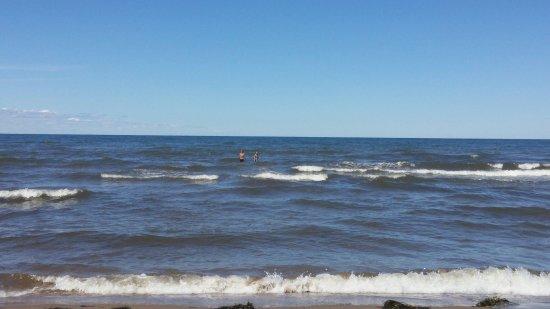 Cap-Pele, Canada: Sandy Beach Tenting & Trailer Park