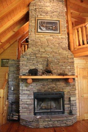beautiful wood burning fireplace picture of elk springs resort rh tripadvisor co za