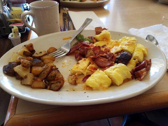 Casa Grande, AZ: Fajita omelette