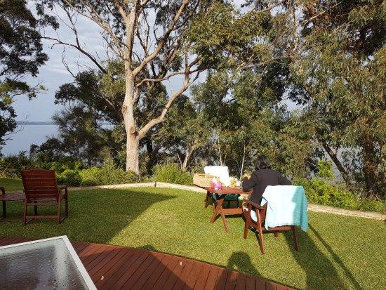 Sanctuary Point, Australia: breakfast