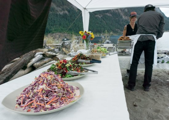 Kaslo, Canadá: some of the salads