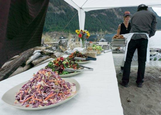 Kaslo, Καναδάς: some of the salads