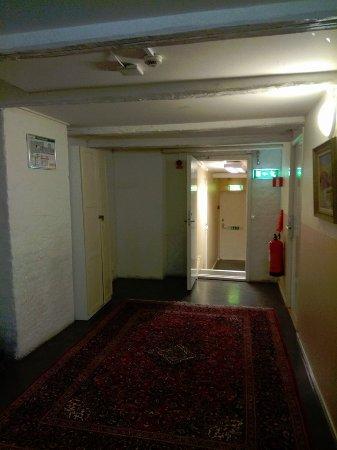 Hotel Gamla Stan: corridor