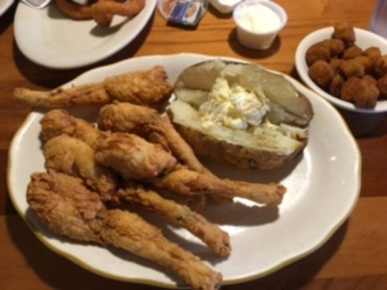 Delicious Frog Legs At Captain Tom S Seafood