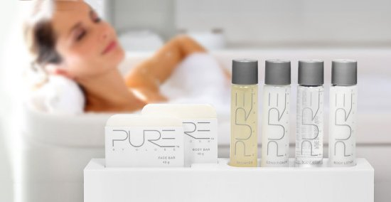 Sierra Suites: Exclusive bath amenities by Pure